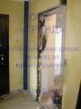 Проем для установки металлической двери