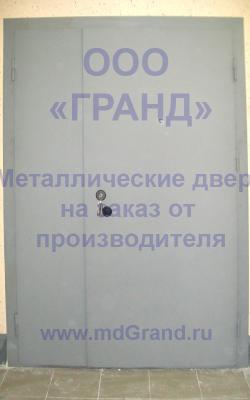 Двери тамбурные металлические дешево