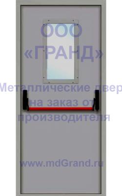 Антипаниковая противопожарная дверь