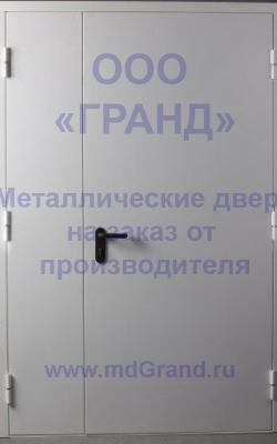 Противопожарная двухстворчатая дверь