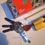 Цилиндр Cisa Asix с монтажным ключом