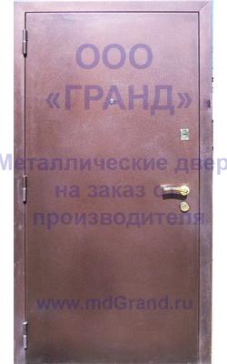 Временная входная дверь